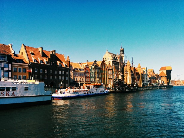 Gdansk is ridiculously beautiful. Gaze upon colourful buildings along the Motława River.