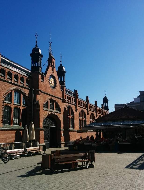 Market Hall (Plac Dominikański) in Gdansk