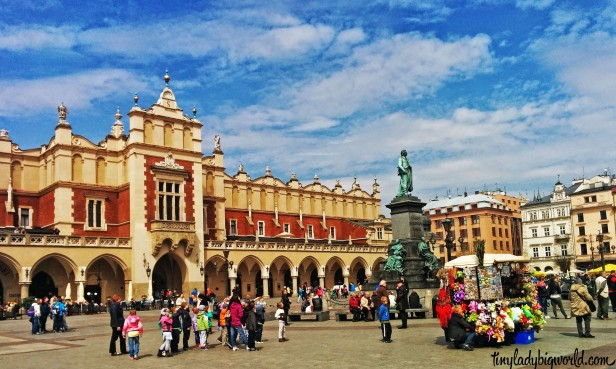 Kraków Main Square in the Old Town
