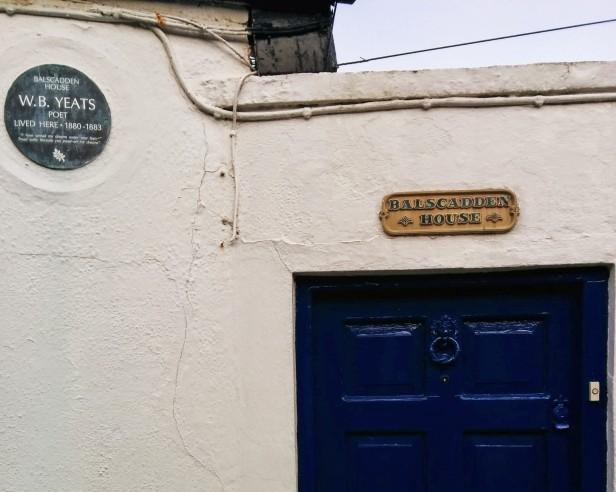 W B Yeats Balscadden house