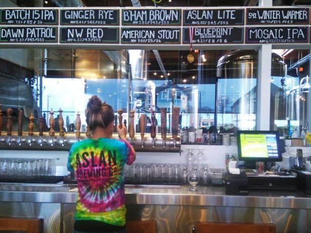 Aslan Brewery Bellingham Tap Trail