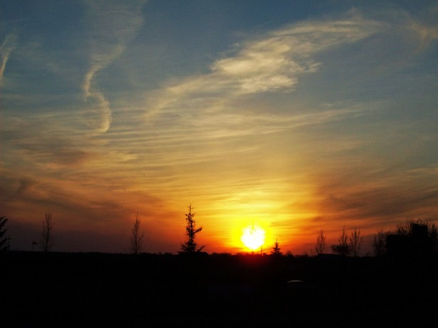 Prairie sunsets in Lethbridge, Alberta.